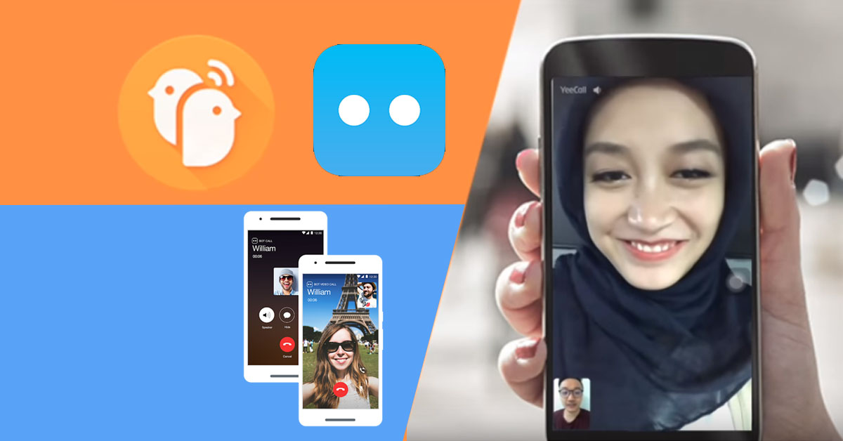 YeeCall messenger and Botim App, the Unblocked Video Call