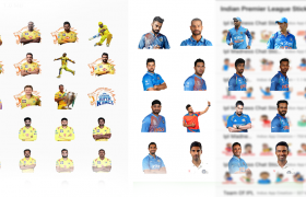 free stickers cricket stickers