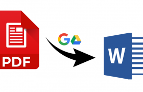 convert pdf to editable word free